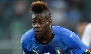 Mario Balotelli scored on his return to the Italy team.