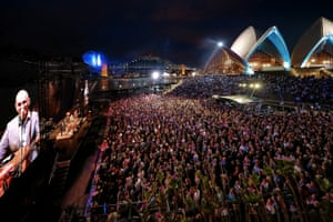 Paul Kelly's 19 November concert at the Sydney Opera House was televised live on ABC.