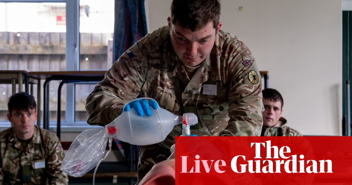 Coronavirus live news: Trump threatens to stop WHO funding as global cases pass 1.4 million - the guardian