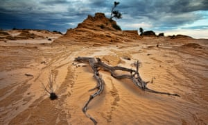 Mungo National Park, Western New South Wales, Australia