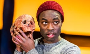 Intensely likeable … Paapa Essiedu as Hamlet.