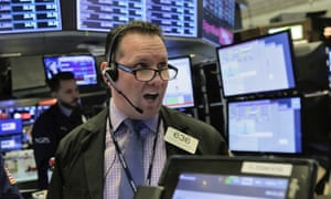 Trader at the NY stock exchange