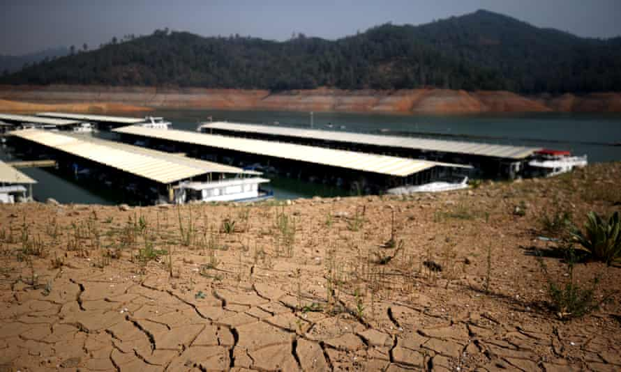 As the extreme drought emergency continues in California, the water levels at Shasta Lake continue to drop and is currently at 38% of capacity.