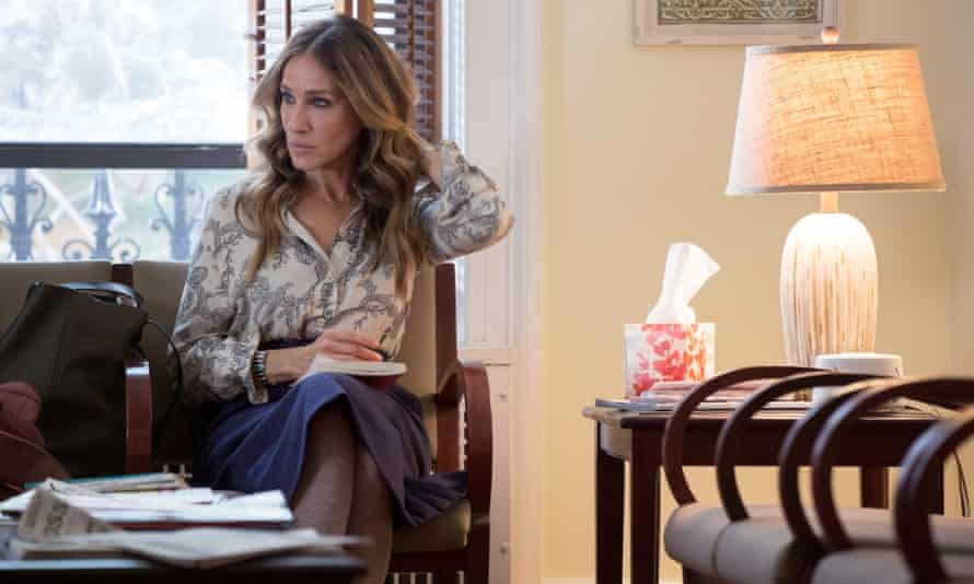 Sarah Jessica Parker as Frances in Divorce.