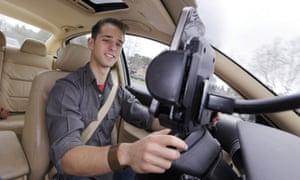 Waze traffic and navigation app