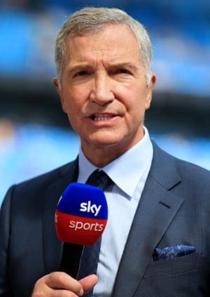 Graeme Souness on punditry duty for Sky Sports.