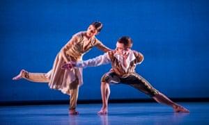 'Exquisitely nuanced': kathak dancer Vidya Patel with Liam Roddick in An Italian In Madrid.