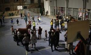 Catalans occupy schools