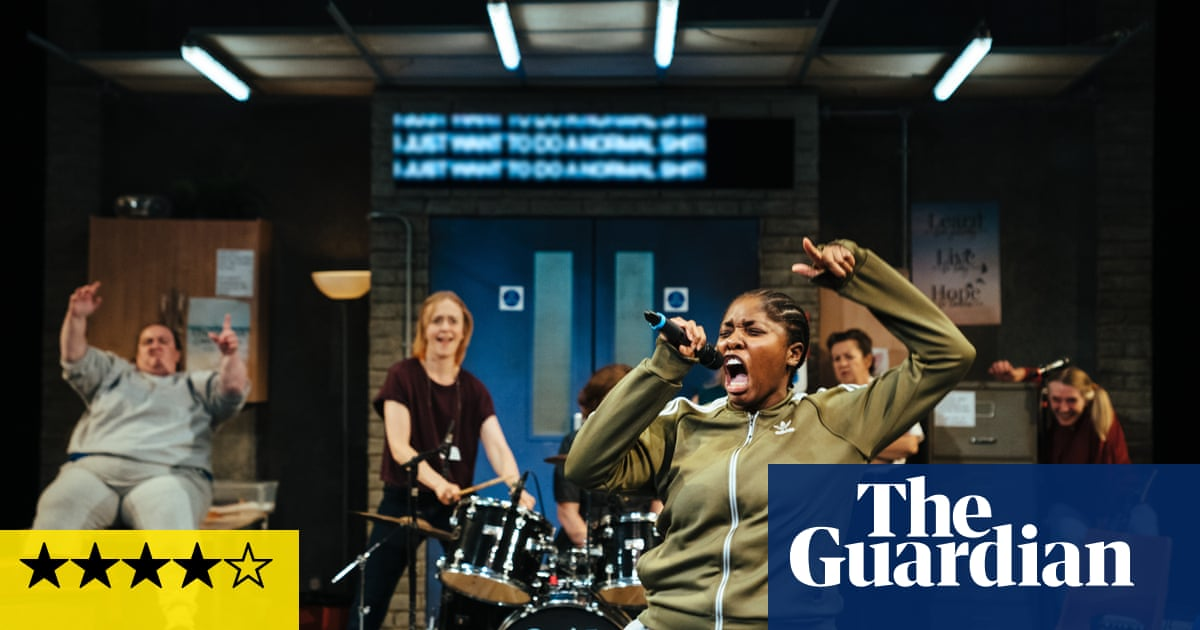 Typical Girls review – a blast of punky gig-theatre fuelled by the Slits