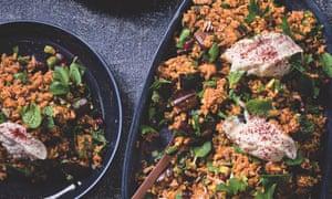 Matt Preston's middle eastern freekah salad