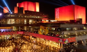 Fire Garden at the National Theatre, South Bank, London