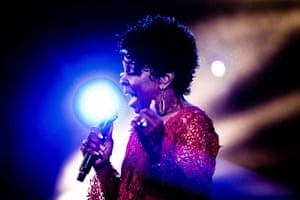 Rotterdam, The NetherlandsAmerican soul singer Gladys Knight performs on stage during the last day of the North Sea Jazz festival in Ahoy.