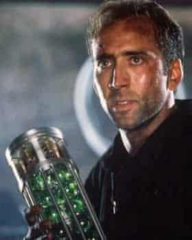 Nicolas Cage in the film