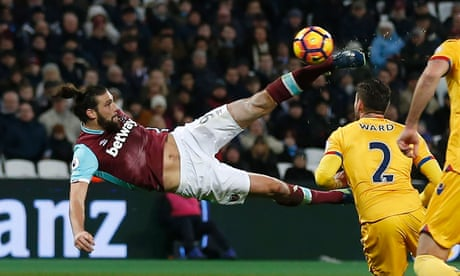 West Ham forget troubles as Andy Carroll stars in win over Crystal Palace