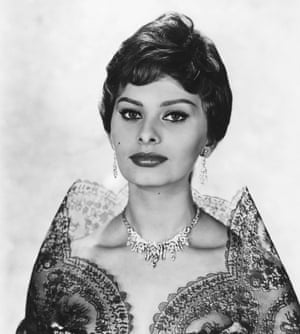 Sophia Loren en 1950.