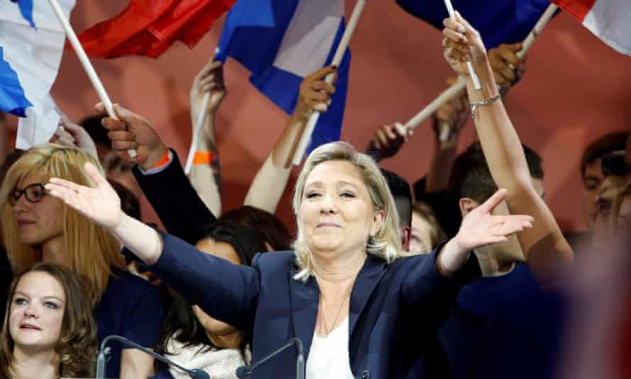 France's far right Front National leader Marine Le Pen