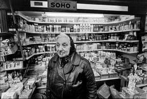 Soho in London 1968 in the nightlife scene in 1960's Soho