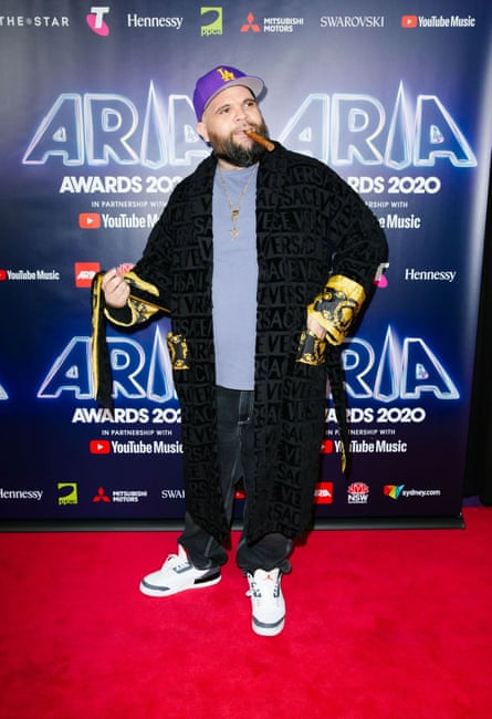 Briggs, one of the few acts who made it to the Star Casino for the 2020 Arias.
