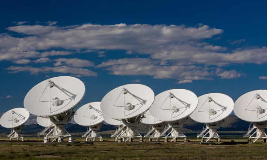 Radar telescopes