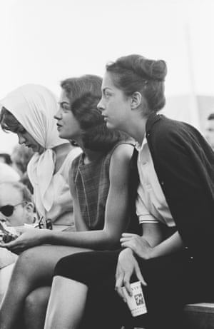 Girls in the audience at the Monterey Festival, 1960 by Jim Marshall