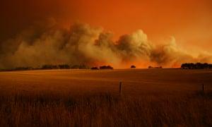 fires on Black Saturday in Victoria