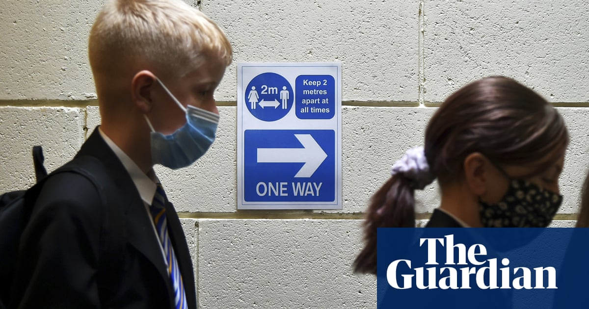 UK unions call for tighter Covid safety measures in schools as cases surge