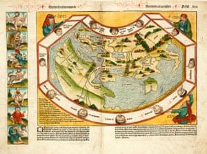 The Nuremberg Chronicle Map