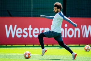 Mo Salah said of Saturday's Champions League final: 'I am so happy that I have the chance to play another final, I hope I can play the full game this time.'