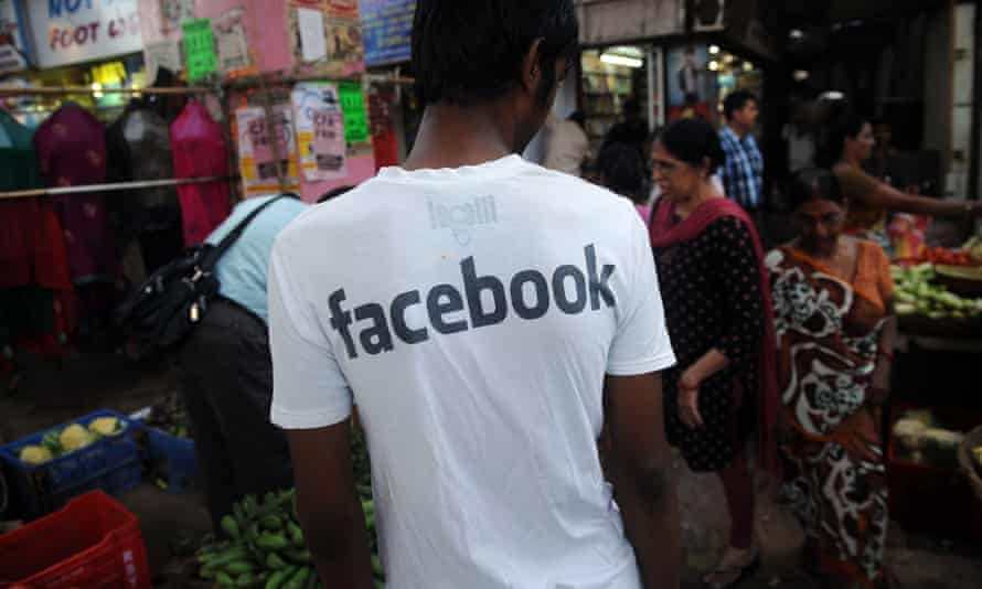 Facebook's largest market is India, where it currently has 250 million users.