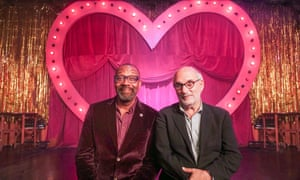 Two of a kind … Lenny Henry and Alan Yentob.