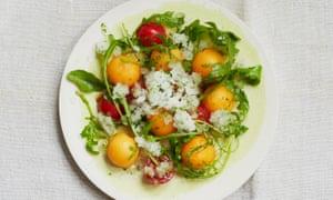 Alexis Gauthier's salade glacée.