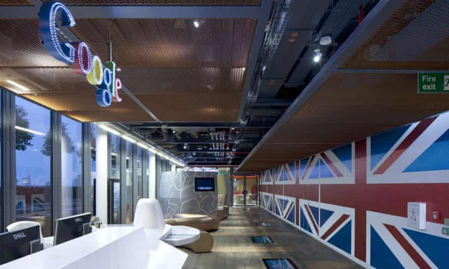 Google's office in Covent Garden, London
