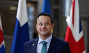 Leo Varadkar arrives for the second day of the European Council summit in Brussels
