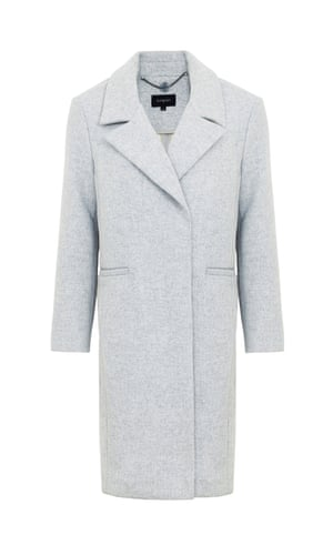 overcoat £129, Autograph at M&S