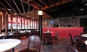 Bar area at Bullitt.