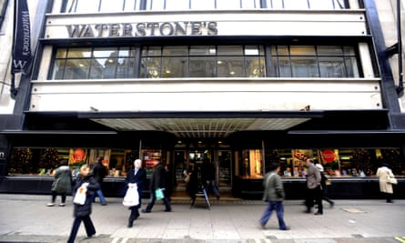 Waterstones flagship store on Piccadilly, central London.