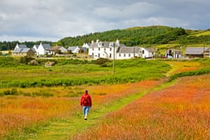The community-owned Hebridean island of Gigha.