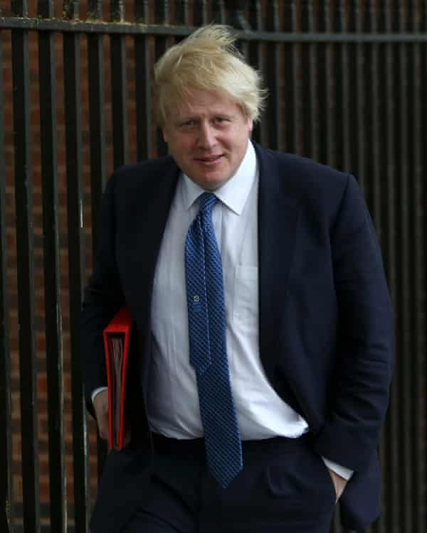 Boris Johnson: at a fundraising dinner that Mifsud also attended two weeks ago.