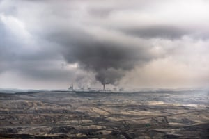 A lignite-fired power station in Poland.