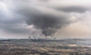 Lignite-fired power station in Poland