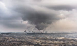 Lignite-fired power station in Poland