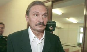 Nikolai Glushkov pictured in Moscow in 2000