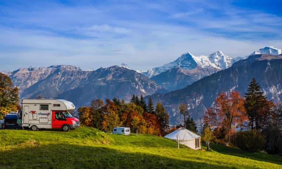 Camping Ferien Wang, Beatenberg, Switzerland