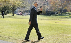 Obama with his BlackBerry in 2014.