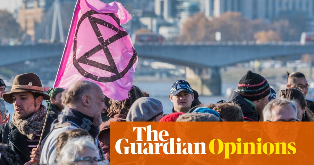I was arrested at a climate change protest – it was worth it | Gavin Turk