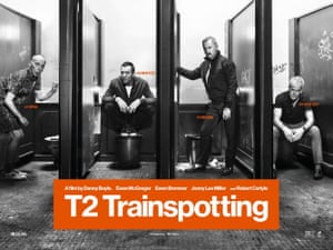 The T2 Trainspotting poster.