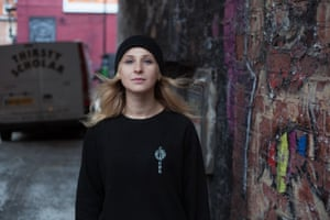 Masha Alyokhina, who was imprisoned in Russia for two years for protests against Putin