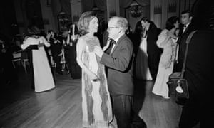 Radziwill dancing with Truman Capote at the ball