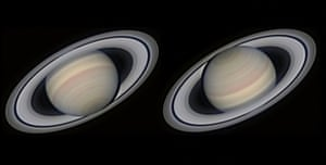 A Magnificent SaturnAvani Soares (Brazil). In high resolution planetary photography having a good view of a planet is a key factor but also completely out of a photographer's control. In this image the photographer was lucky to capture our second largest planet, Saturn, in all its glory. After stacking 4,000 out of 10,000 frames we can admire details such as the beautiful polar hexagon, the Encke Division and even the crepe ring.