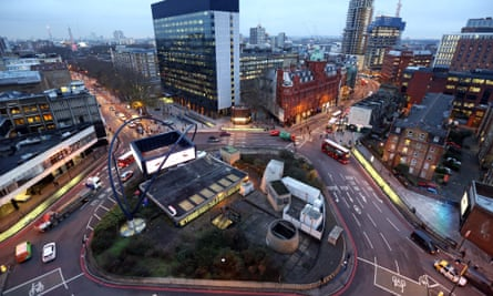 Tech City's 'Silicon roundabout' in London's east end is the heart of Britain's startup scene. But measured by market cap, that scene is still small.